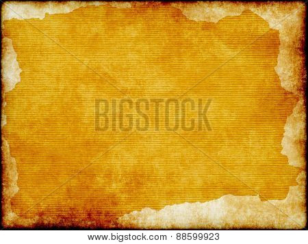 Grunge Paper Sheet With Pattern