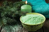 picture of conifers  - Conifer spa products - JPG