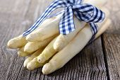 picture of white asparagus  - White asparagus from Germany  - JPG