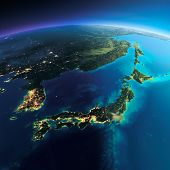 picture of sakhalin  - Highly detailed planet Earth - JPG