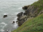 image of ireland  - A view of the sea from the coast of Ireland  - JPG