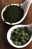 picture of chlorella  - Green chlorella - JPG