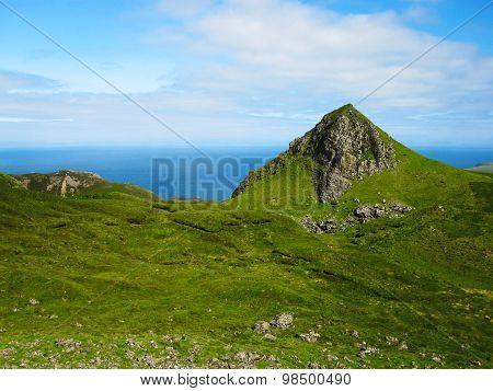 Green Hills Of The Isle Of Skye