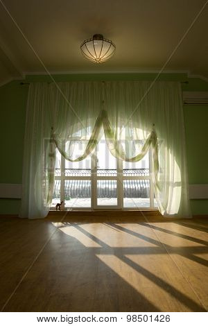 Interior Of The House, Curtains
