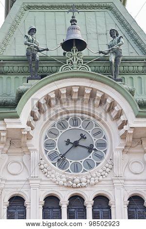 Trieste Clock Bell
