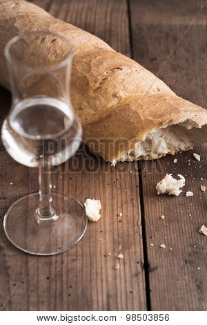 Grappa With Bread