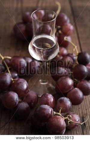 Grappa With Grape