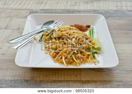 Thai Fried Noodle Pad Thai