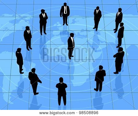 Global Partners Silhouettes