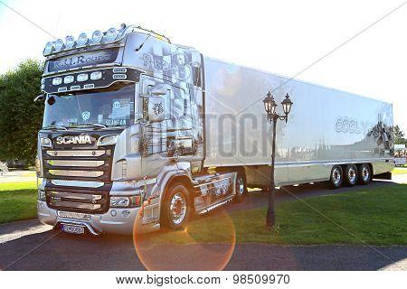 Scania R620 Semi R.U.route From Slovakia