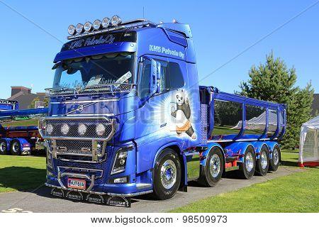 Volvo FH16 750 Dump Truck Kung Fu Panda