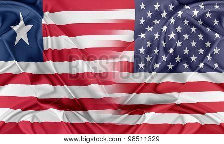 USA and Liberia