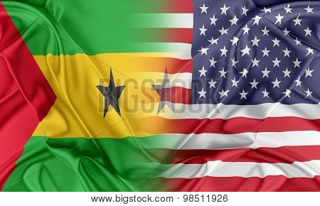 USA and Sao Tome and Principe