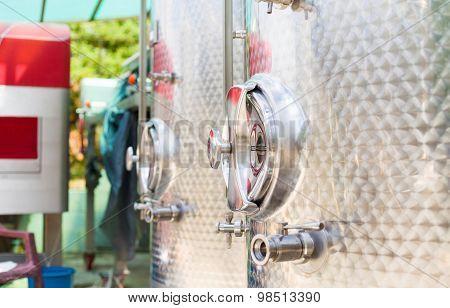 Fermentation Tank Detail