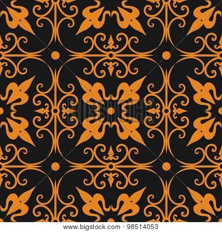 seamless ornament pattern -  vector