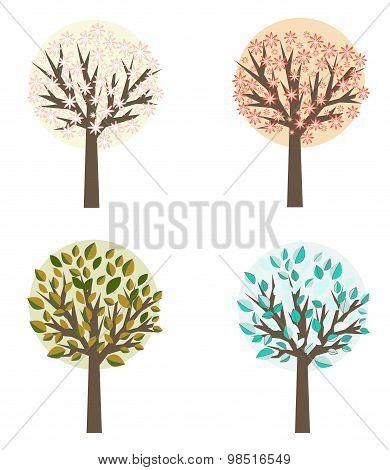 Four seasons tree.