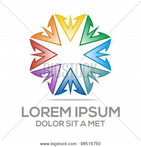 Abstract Logo AV Symbol Element Logo Template Business Vector
