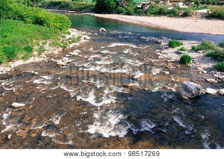 Rural river.