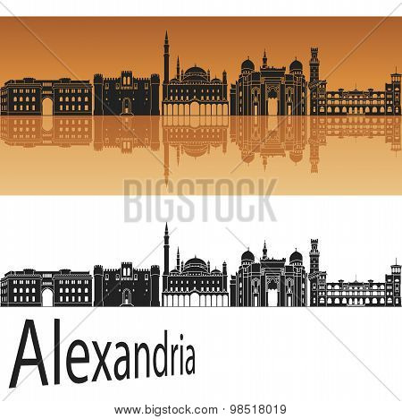 Alexandria Skyline