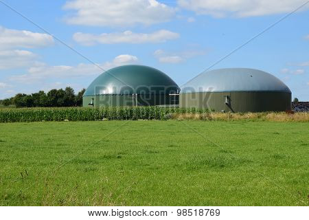 Bio Gas Plant, Renewable Resources For Renewable Energy