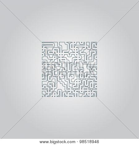 Labyrinth Puzzle rebus icon