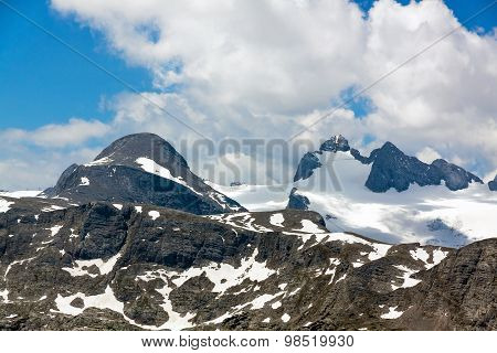 Higher Gjaidstein, Higher Dachstein And Lower Dachtein, Dachstein Mountains