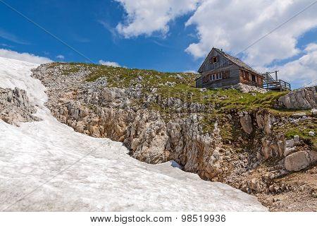 Cabin At The Dachstein