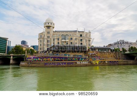 Buildings Along The Danube Canal