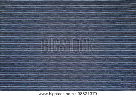Dark Blue Of Fabric With Speckled Grained Texture
