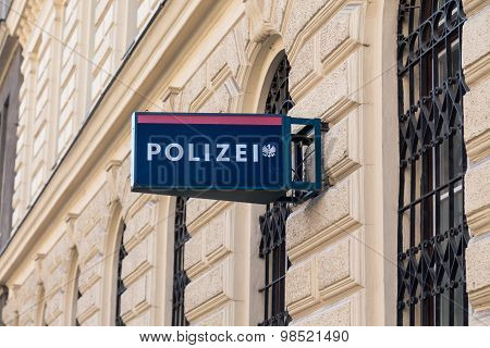 Police Station In Vienna