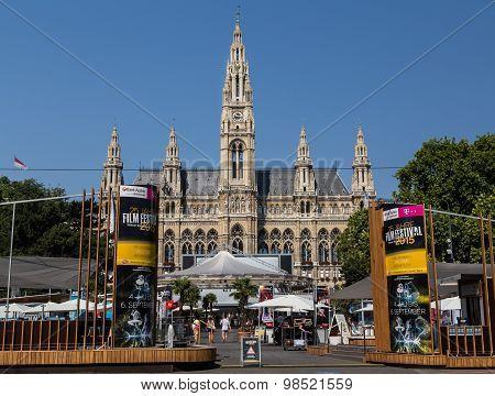Rathaus In Vienna