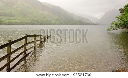 Buttermere with Fence