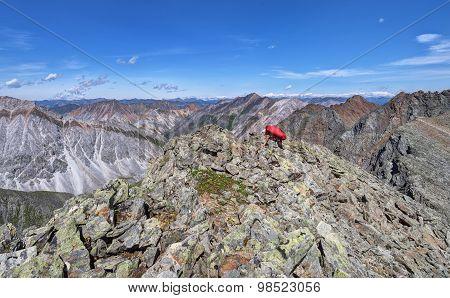 Climbing The Mountain Peak