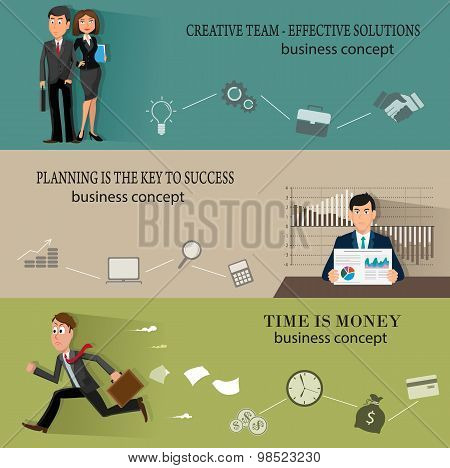 Business  Backgrounds Templates With People