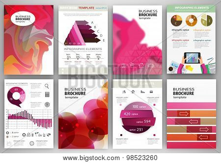 Concept Backgrounds And Abstract  Infographics And Icons