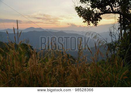 Mountain landscape In Thailand
