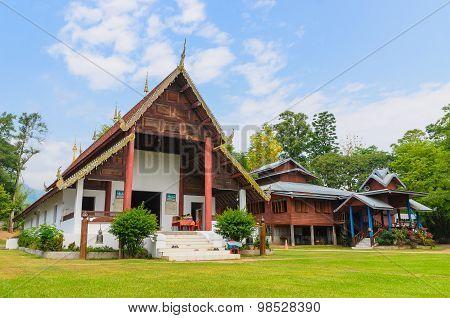 Wat Nam Hu , Pai, Mae Hong Son, Thailand
