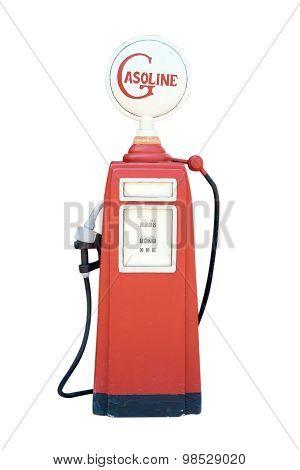 Retro Gasolin Pump