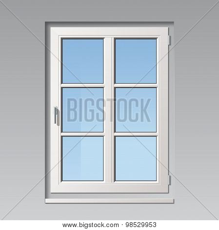 modern vector window