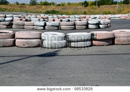 Tires On The Autodrome