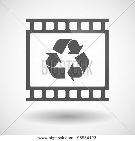 Photographic Film Icon With A Recycle Sign