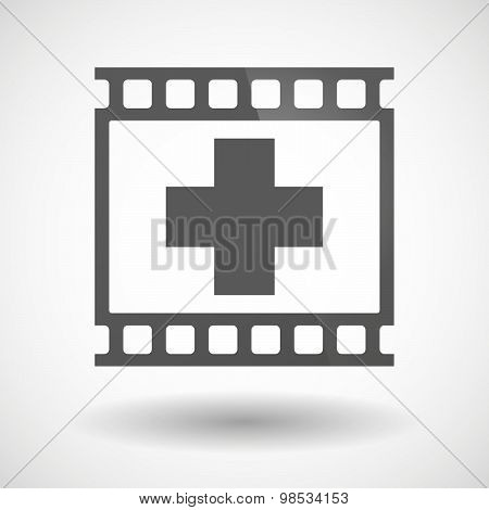 Photographic Film Icon With A Thumb Up Hand