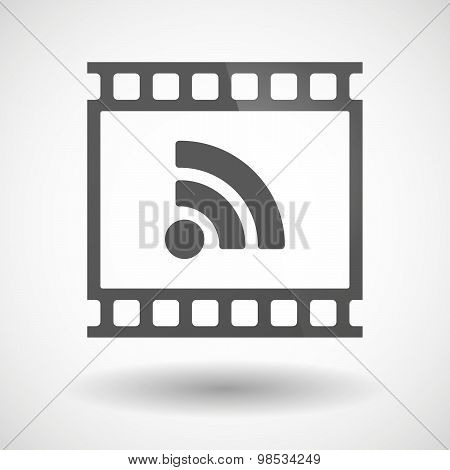 Photographic Film Icon With An Rss Sign