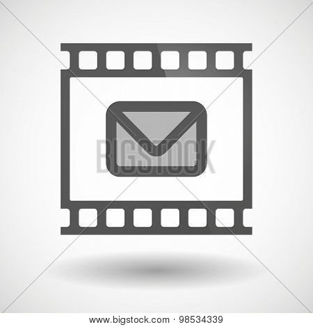 Photographic Film Icon With An Envelope