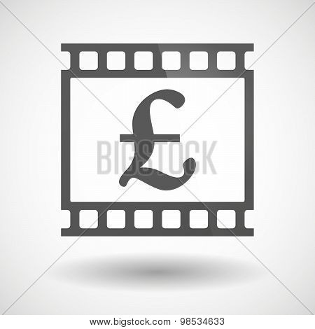 Photographic Film Icon With A Pound Sign