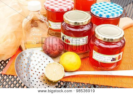 Harvest Time - Homemade Apple Jelly