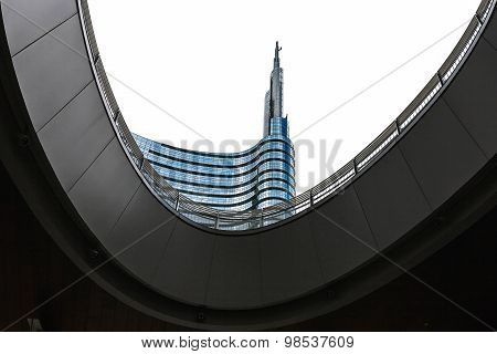 Unicredit Tower Building In Milan