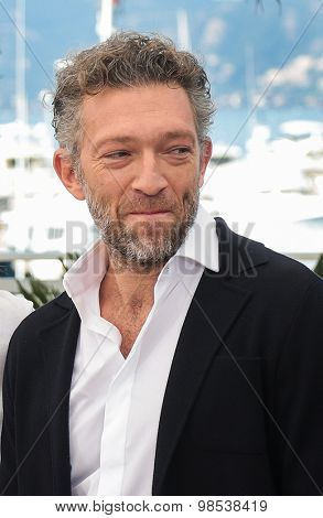 Actor Vincent Cassel attend the 'Mon Roi' photocall during the 68th annual Cannes Film Festival on May 17, 2015 in Cannes, France.