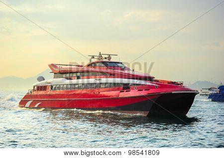 Hong Kong Macao Ferry Boat
