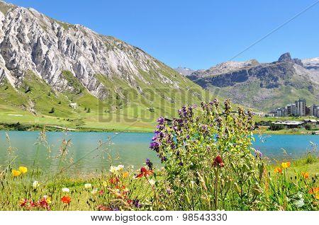 Mountain Lake - Lake Of Tignes